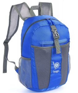 a6f1fefc7395 Bago Lightweight Backpack – Foldable and Packable Daypack Unisex
