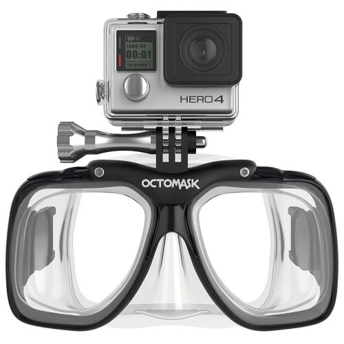 7. OCTOMASK GoPro Hero5 and Session Dive Mask