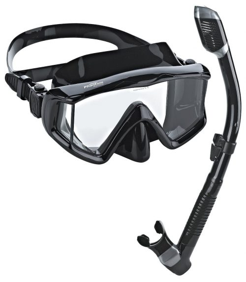 8. Phantom Aquatics Panoramic Scuba Mask