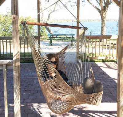 9. Krazy Outdoors Mayan Hammock Chair
