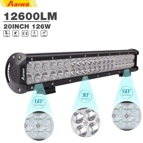 Aaiwa LED Light Bar Led Fog Driving Light Flood Spot