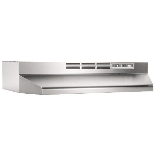 1. Broan 413004 ADA Capable Non-Ducted Under-Cabinet Range Hood