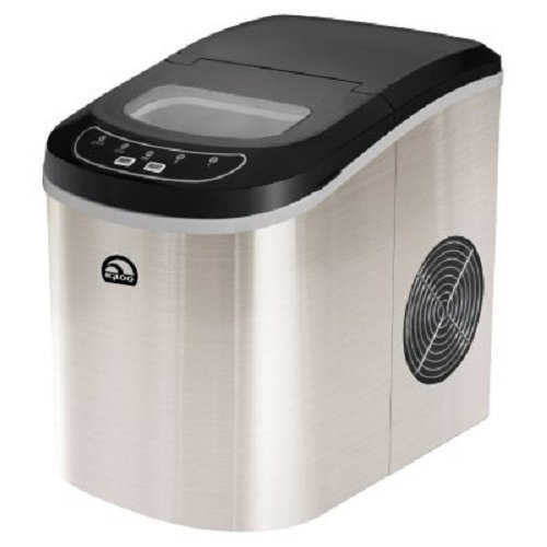 4. Igloo ICE105 Counter Top Compact Ice Maker, Stainless