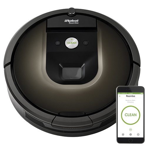 1. iRobot Roomba 980 Robot Vacuum with Wi-Fi Connectivity