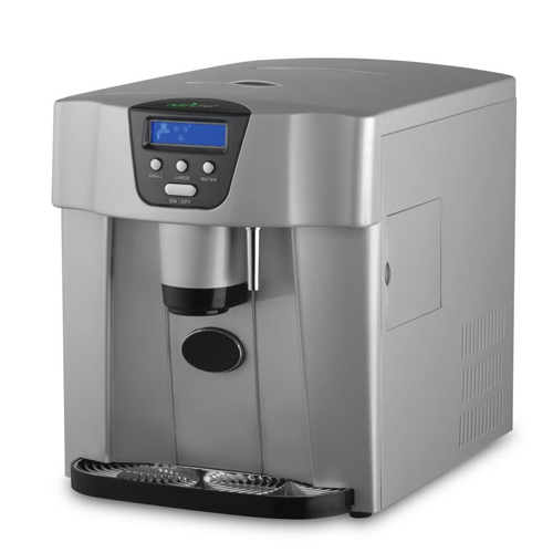 10. Upgraded NutriChef Digital Portable Ice Maker Machine