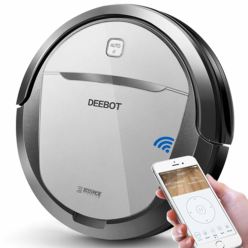 2. ECOVACS Deebot M80 Pro Robot Vacuum Cleaner with Mop and Water Tank Attachment