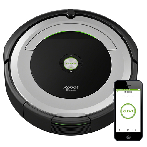 5. iRobot Roomba 690 Robot Vacuum with Wi-Fi Connectivity
