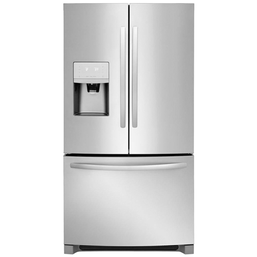 3. Frigidaire FFHB2750TS 36 Inch French Door Refrigerator with 26.8 cu. ft. Total Capacity, in Stainless Steel