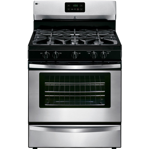 3. Kenmore 73433 4.2 Cu. Ft. Freestanding Gas Range in Stainless Steel