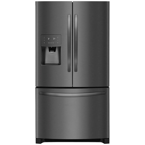 6. Frigidaire FFHB2750TD 36 Inch French Door Refrigerator with 26.8 cu. ft. Total Capacity, in Black Stainless Steel