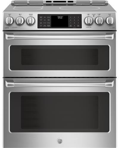 GE Cafe CHS995SELSS 30 Inch Slide-in Electric Range with Smoothtop Cooktop
