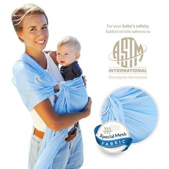 6fd92c0df90 Lucky Baby Ring Sling with Breathable