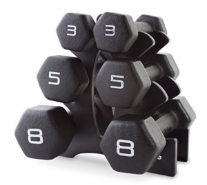 5. CAP Barbell Neoprene Dumbbell Set