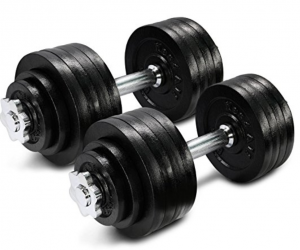 3. Yes4All Adjustable Dumbbells