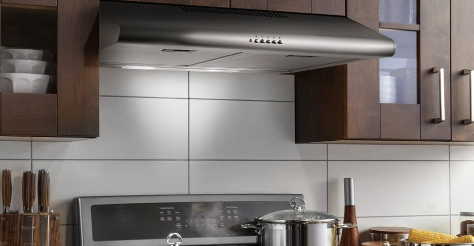 top 10 best range hoods for gas stoves in 2019. Black Bedroom Furniture Sets. Home Design Ideas
