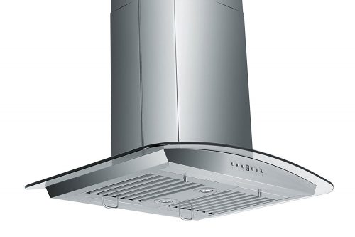 Z Line GL5i-30 Stainless Steel and Glass Island Mount Range Hood