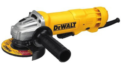 DEWALT DWE402 11.0-Amp Paddle Switch Angle Grinder, 4.5-inches