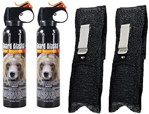 Guard Alaska 9 Oz. Bear Spray Repellent Firemaster, 2-Pack