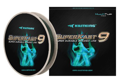 KastKing SuperKast9 Braided Fishing Line, 9-Strand