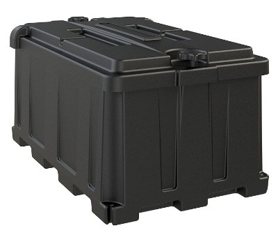 NOCO HM484 8D Commercial Grade Automotive, Marine and RV Battery Box