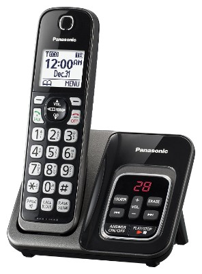 Panasonic KX-TGD530M Expandable Phone with Answering Machine