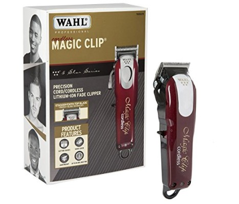 Wahl Professional 5-Star Cord:Cordless Magic Clip