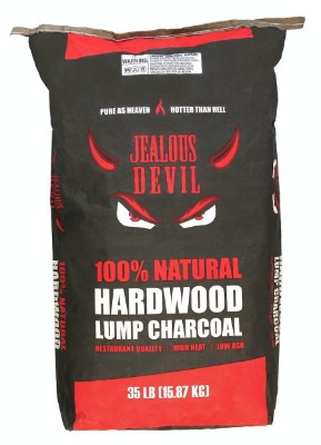 Jealous Devil 100% Natural Lump Charcoal, 2-35lb bags