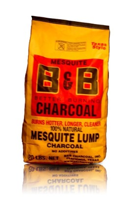 BB Charcoal Mesquite Lump Charcoal