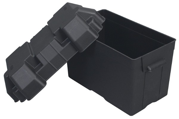 Attwood Small Battery Box Black #9082-1