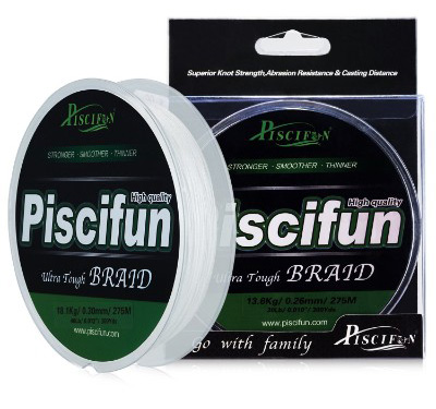 Piscifun Improved 6-150lb Braided Fishing Line