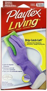 Playtex Prod 06306 Living Small Household Rubber Gloves—3 Pack