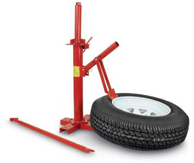 9. Manual Tire Changer Base by PowerLift