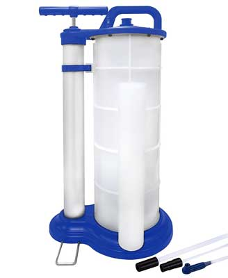 2. Astro Pneumatic manual fluid extractor