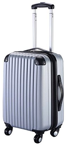 "Goplus GLOBALWAY 20"" Expandable ABS Carry On Bag Trolley Suitcase"