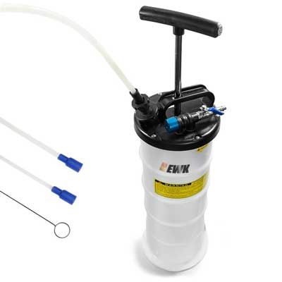 10. EWK Pneumatic fluid extractor