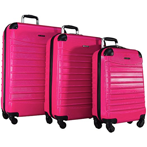 """Ciao Voyager 3-Piece Hardside Spinner Luggage Set: 28"""", 24"""", and 20"""""""
