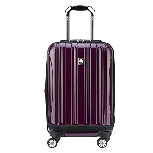 Delsey Luggage Helium Aero International Carry On Expandable Spinner Trolley