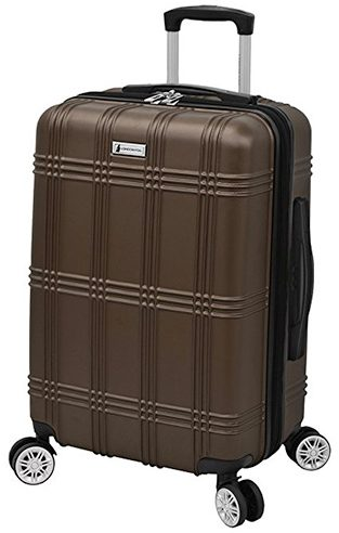 "London Fog Kingsbury 21"" Expandable Hardside Spinner Carry-on"