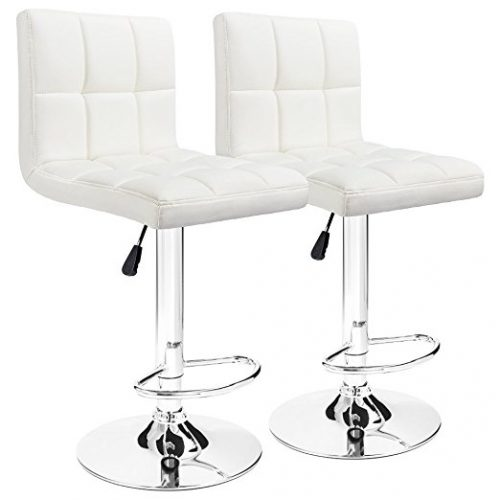 Furmax Set of 2 Adjustable Bar Stools