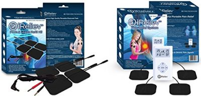 4. iReliev TOP-BEST TENS Massager Unit Bundle