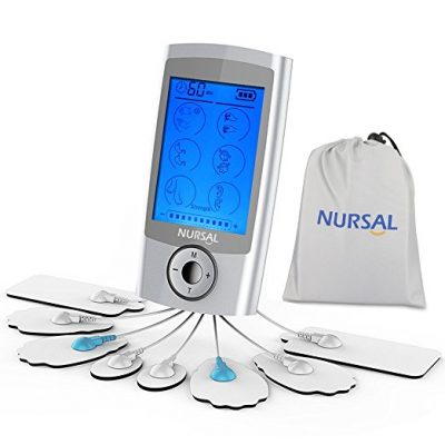 6. NURSAL Tens Unit Electronic Pain Relief Massager