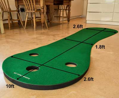 Best Indoor Golf Training Mat - FORBS Homes Golf Putting Mats