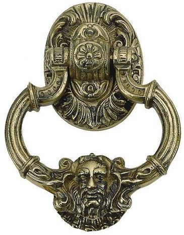 "BRASS Accents A04-K5060-609 7.375"" Neptune"