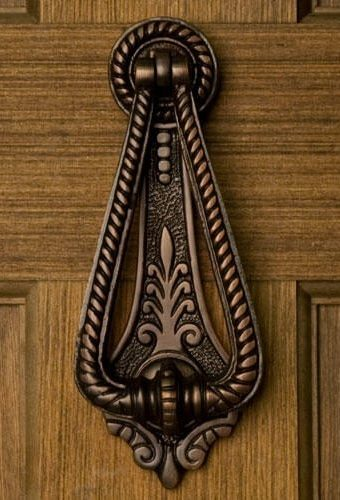 Casa Hardware Twist Brass Door Knocker