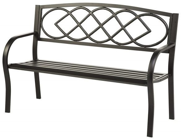 Celtic Knot Patio Garden Bench