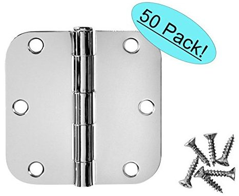 Cosmas Polished Chrome Door Hinge