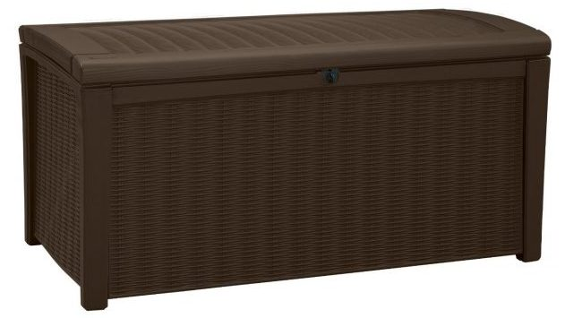 Deck Box for Patio Pool Storage Bench