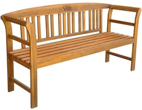 Festnight Wooden Garden Outdoor Bench
