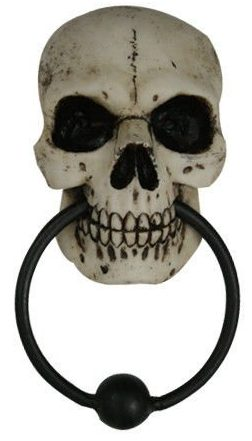 Homosapien Skull Door Knocker