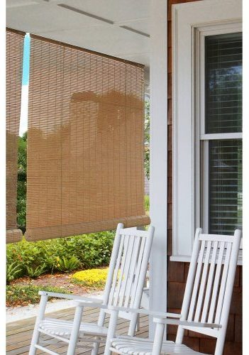 Indoor Outdoor Bamboo Reed Blinds Roll Up